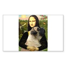 Mona's Bull Mastiff Decal