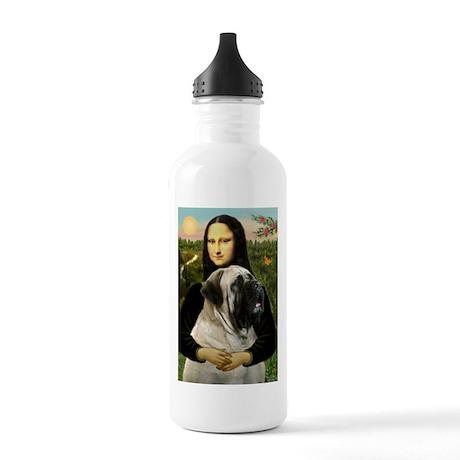 Mona's Bull Mastiff Stainless Water Bottle 1.0L