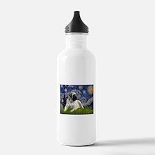 Starry Night Mastiff Water Bottle