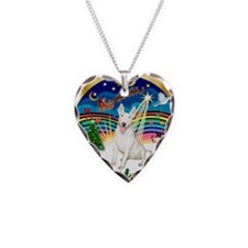 XmasMusic 3/Bull Ter Necklace Heart Charm