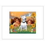 Cherubs / Bull Terrier Small Poster
