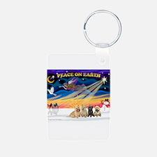 XmasSunrise/4 Cairns Keychains