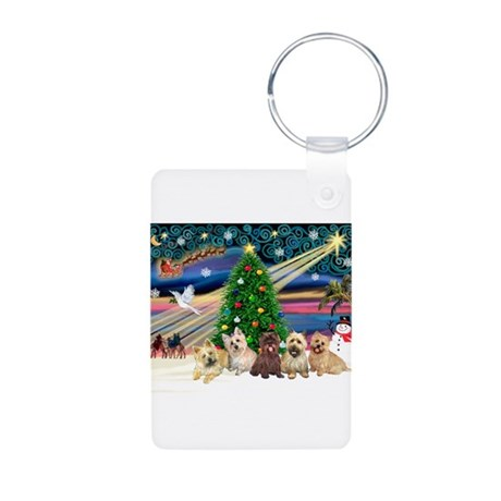 XmasMagic/5 Carins Aluminum Photo Keychain