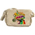 Crazy Messenger Bag