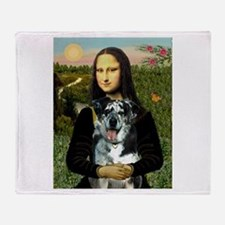 Mona /Catahoula Throw Blanket