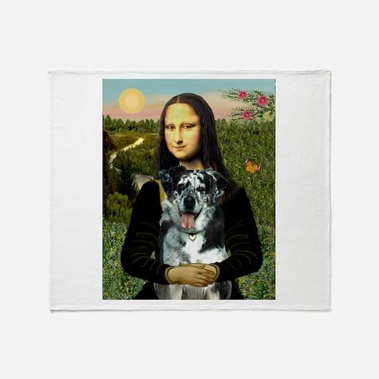 Mona /Catahoula Throw Blanket