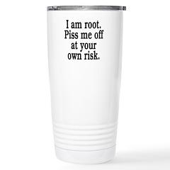 I am root Stainless Steel Travel Mug