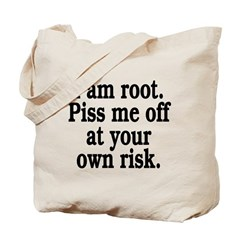 I am root Tote Bag