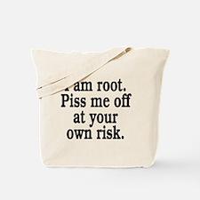 I am root Tote Bag