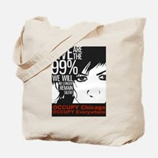 Occupy Chicago Tote Bag