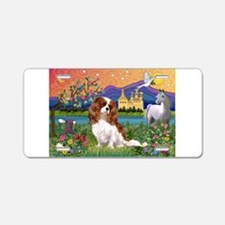 Fantasy Cavalier King Aluminum License Plate