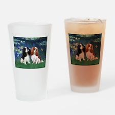 Lilies (#5) & 2 CKC Drinking Glass