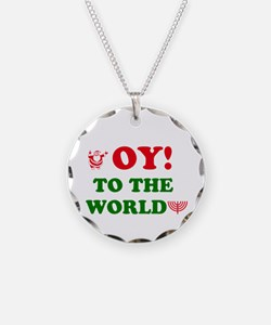 Oy to the World! Necklace