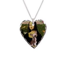 Cute Chinese crested dogs Necklace