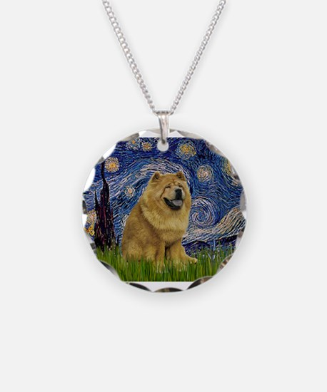 Cute Chow Necklace