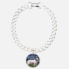 Starry Night Clumber Spaniel Bracelet