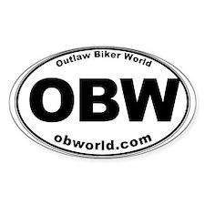 Outlaw Biker World Bumper Stickers