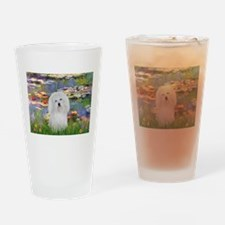 Coton in the Lilies Drinking Glass