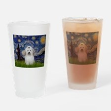 Starry Night Coton Drinking Glass