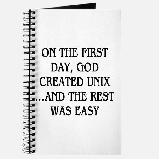 God created UNIX Journal