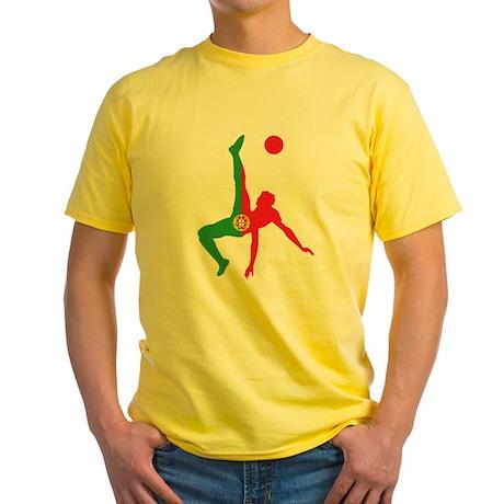 Portugal Soccer Yellow T-Shirt