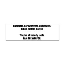 Cool Weapon Car Magnet 10 x 3