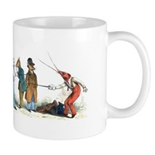 The Duel Small Mugs