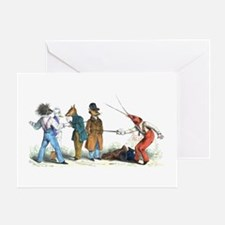 The Duel Greeting Card