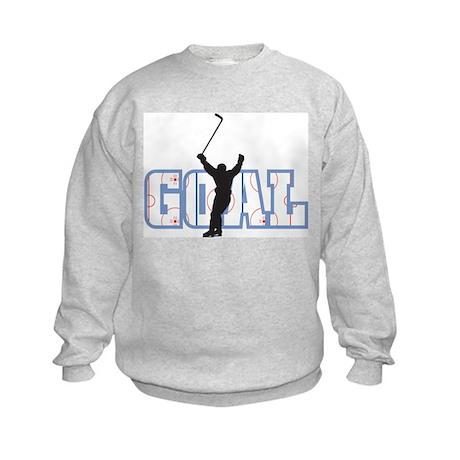 Hockey Goal Kids Sweatshirt
