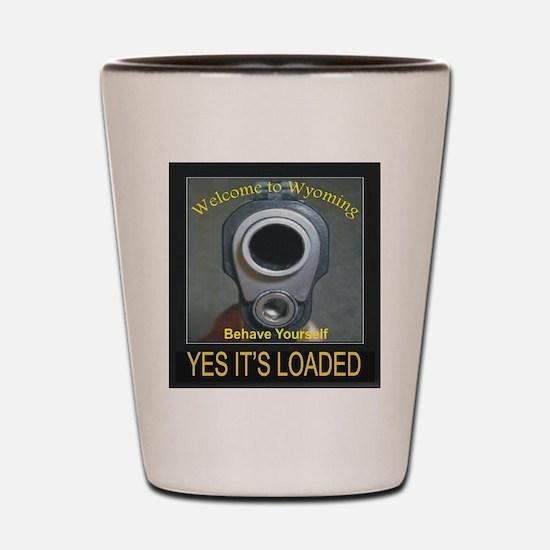 2nd Amendment Shot Glass