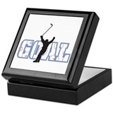 Hockey Square Keepsake Boxes