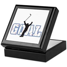 Hockey Goal Keepsake Box