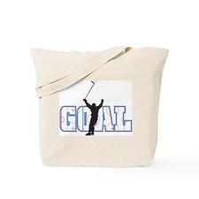 Hockey Goal Tote Bag