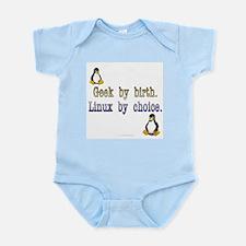 Geek by birth... Infant Bodysuit