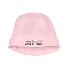 Geek by birth... baby hat
