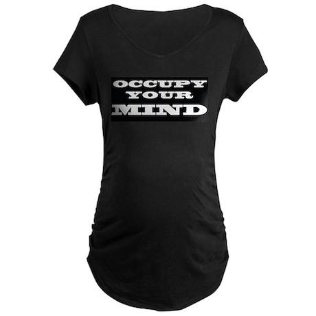 Occupy Mind Maternity Dark T-Shirt