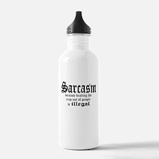 Cute Beating humor Water Bottle