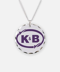 K&B Drugs Double Check Necklace