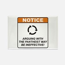 Pantheist / Argue Rectangle Magnet