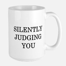 Silently Judging You Mug