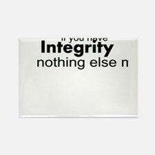 Cute Integrity Rectangle Magnet