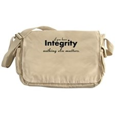 Cute The truth Messenger Bag