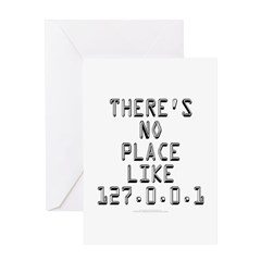 There's no place Greeting Card
