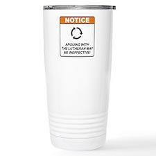 Lutheran / Argue Stainless Steel Travel Mug
