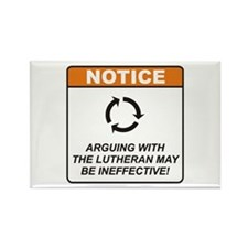 Lutheran / Argue Rectangle Magnet (10 pack)