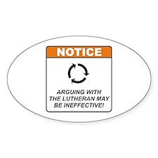 Lutheran / Argue Decal