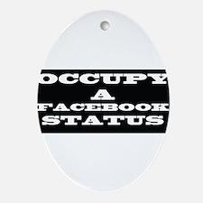 FB Status Ornament (Oval)