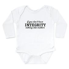 True Long Sleeve Infant Bodysuit