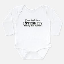 Cute Integrity Long Sleeve Infant Bodysuit