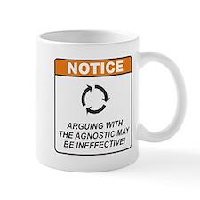 Agnostic / Argue Mug